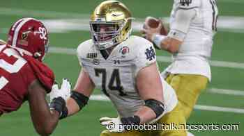 Dolphins trade with Giants, take Liam Eichenberg at No. 42