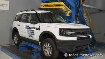 Ford Bronco Sport scores highest safety rating in IIHS test