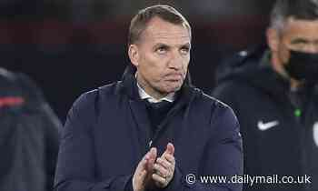 Leicester boss Brendan Rodgers believes schedule caught up with his players at Southampton