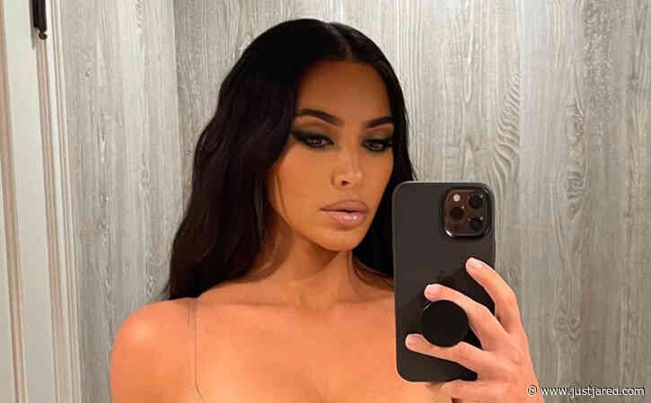 Kim Kardashian Bleached Her Eyebrows & She Looks Unrecognizable!