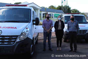 Prefeitura de Arapoti adquire novas ambulâncias e recebe repasse de R$ 350 mil - Folha Extra