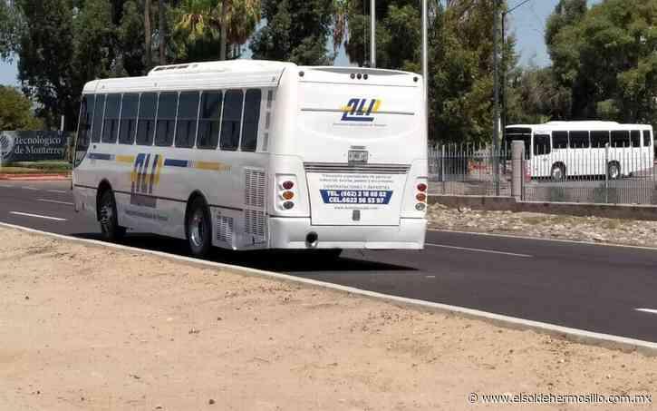 Denuncian artefacto explosivo en autobús de transporte en Caborca - El Sol de Hermosillo