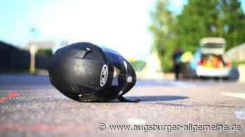 Motorradunfall: 20-Jähriger muss ins Krankenhaus - Augsburger Allgemeine