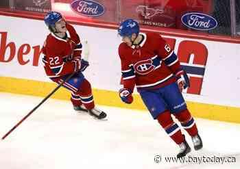 Nick Suzuki scores twice for Montreal Canadiens in 5-3 win over Winnipeg Jets