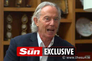Don't take the p*** out of Tony Blair's mullet – he doesn't look like Pat Sharp, I fancy him more than ever... - The Irish Sun