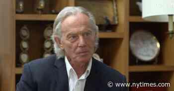Tony Blair's Long Hair Causes a Stir - The New York Times