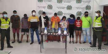 Capturan a nueve personas por presuntamente promover chance ilegal en Sitionuevo - Seguimiento.co