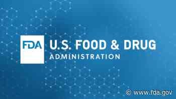 FDA.gov Coronavirus (COVID-19) Update: April 30, 2021 - FDA.gov