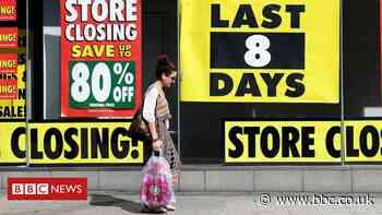 One in seven shops lie empty after lockdown