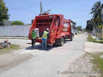 Garantizan espacios limpios en Ocumare de la Costa - Últimas Noticias