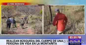 """""""Peinan"""" La Montañita en busca del supuesto cadáver de una persona - hch.tv"""