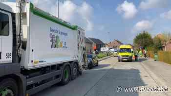 Afvalophaler zwaargewond na aanrijding in Erpe-Mere - TV Oost
