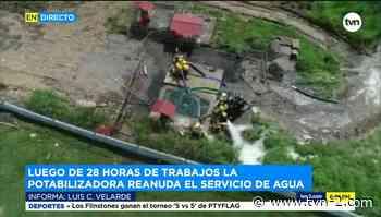 Trabajos en la potabilizadora de Chilibre concluyen - TVN Panamá