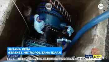 Idaan repara daño en tubería de la planta antigua de Chilibre - TVN Panamá