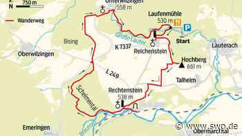 Wandern im Lautertal: Faszinierende Flaniermeile rund um den Hochberg - SWP