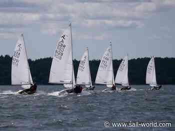 Albacore Internationals at Shelburne Harbour Yacht Club, Nova Scotia - Practice Race - Sail World