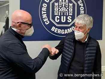 Il tecnico dell'Atalanta Gasperini riceve il vaccino al CUS di Dalmine - BergamoNews.it