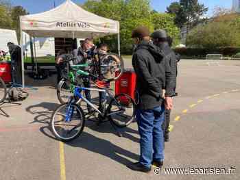Saint-Gratien : l'atelier vente et réparation de vélos fait le plein - Le Parisien
