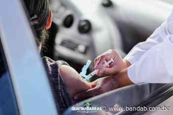 Prefeitura de Quatro Barras abre horário noturno para vacinação de idosos nesta quinta - Banda B - Banda B