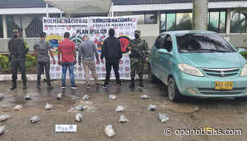 Cinco capturados por transporte de marihuana en Isnos - Opanoticias