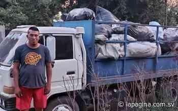 Sujeto es capturado por contaminación ambiental en San Juan Opico, La Libertad - Diario La Página