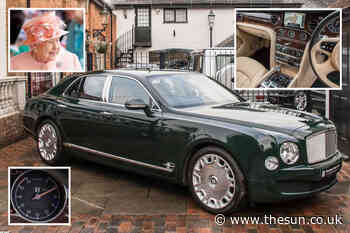 Posh Bentley once owned by the QUEEN and used at Buckingham Palace could be yours for £180,000... - The Sun