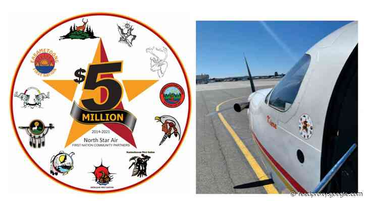 North Star Air and First Nation Community Partners Celebrate $5 Million Milestone