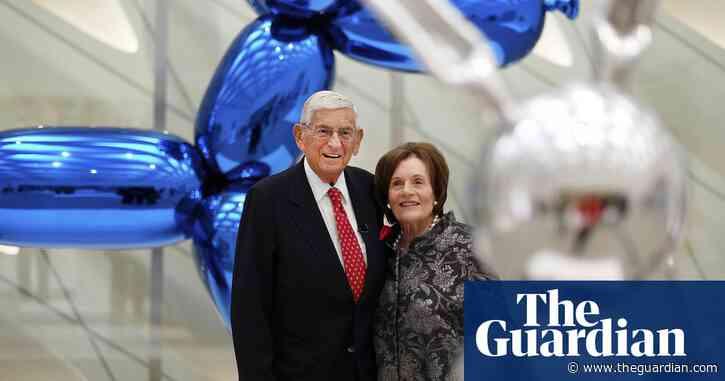 Eli Broad, billionaire philanthropist who shaped Los Angeles art scene, dies at 87