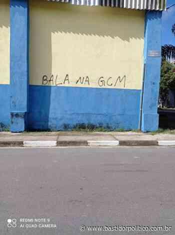Muro em Rio Grande da Serra amanhece com ameaça a GCM - Bastidor Político