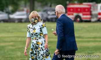 Joe Biden sparks Twitter meltdown after picking dandelion for wife Jill – 'How sweet!'