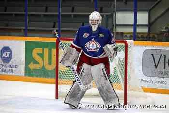 Fort St. John's Jordan Fairlie records first career BCHL shutout in 7-0 win - Alaska Highway News