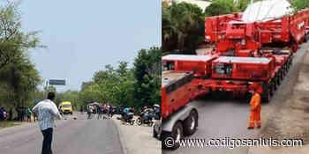 Ejidatarios impiden que mega turbina llegue a termoeléctrica de Tamazunchale - Código San Luis