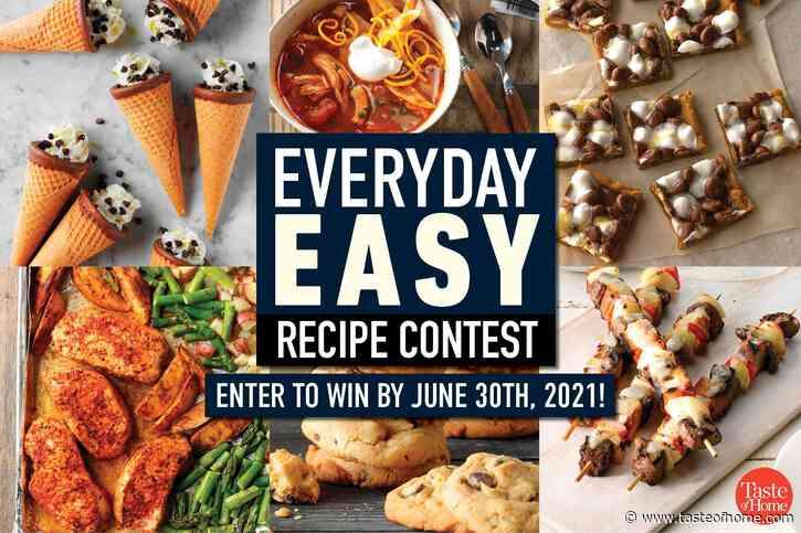 Everyday Easy Recipe Contest