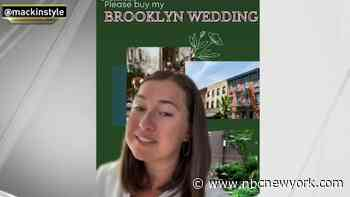 Woman Puts Her Entire Brooklyn Wedding Up for Sale on TikTok
