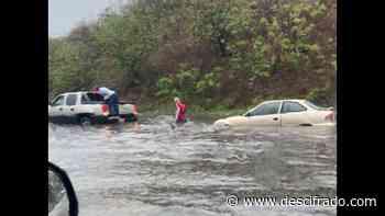 Vecinos de la Pista Norte de Guarenas-Guatire denuncian inundaciones por las fuertes lluvias - Descifrado.com