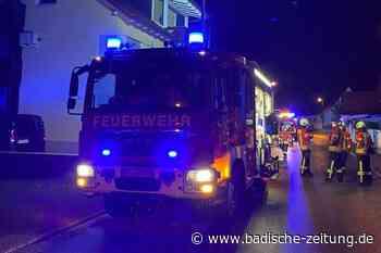 Ein Haus in Gottenheim ist nach einem Brand nicht bewohnbar - Gottenheim - Badische Zeitung