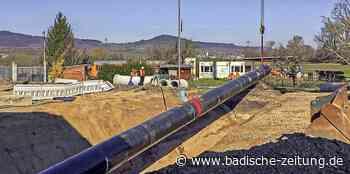 Drei Jahre Kanalbauarbeiten sind beendet - Gottenheim - Badische Zeitung