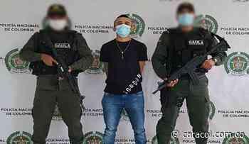 Capturan en Cereté a alias 'El Gorrita', integrante del Clan del Golfo - Caracol Radio