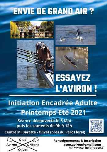ESSAYER l'AVIRON Aviron club Orléans Olivet,club Baratta,Orléans samedi 8 mai 2021 - Unidivers