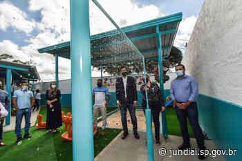 Escola do Santa Gertrudes é reformada e integrada aos espaços públicos - Prefeitura de Jundiaí