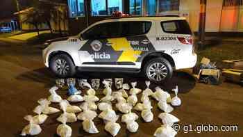Polícia Rodoviária apreende substâncias não identificadas em Santa Cruz do Rio Pardo - G1