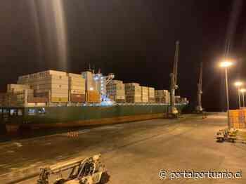 Terminal Portuario Paracas recibe el portacontenedores más grande atendido en el recinto - PortalPortuario