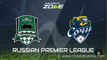 2020-21 Russian Premier League – Krasnodar vs Sochi Preview & Prediction - The Stats Zone