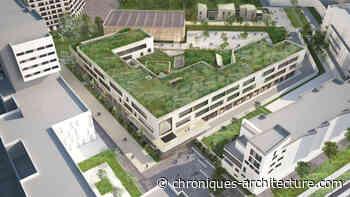 Reconstruction du Collège Jean-Vilar à La Courneuve - Chroniques d'architecture