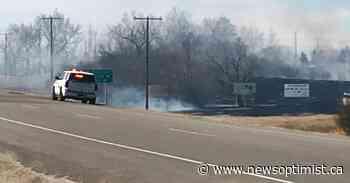 Grassfire fought at Biggar regional park - The Battlefords News-Optimist