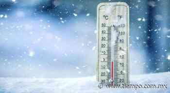 San Juanito, mínima de hasta -2.2°C; ve temperaturas en entidad - El Tiempo de México