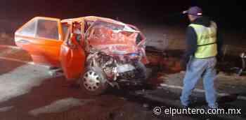Mueren 5 personas en fuerte choque en carretera Guerrero-San Juanito - El puntero