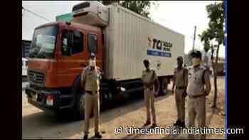 Madhya Pradesh: Truck carrying over 2 lakh Covid-19 vaccines reportedly found abandoned