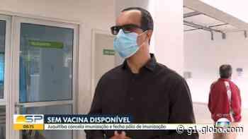 Após suspensão da vacinação contra a Covid, moradores de Juquitiba formam fila em busca do imunizante - G1