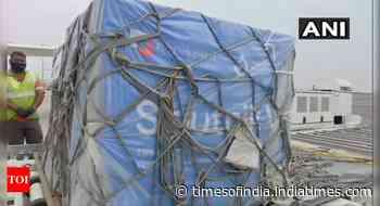 First lot of 1.5 lakh Sputnik V doses lands in India